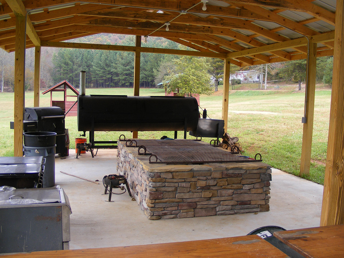 Swing Fire Pit Area